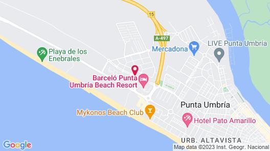 Leo Punta Umbria III - Adults Only Map