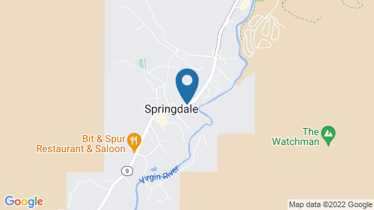 La Quinta Inn & Suites by Wyndham at Zion Park/Springdale Map