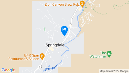 Best Western Plus Zion Canyon Inn & Suites Map