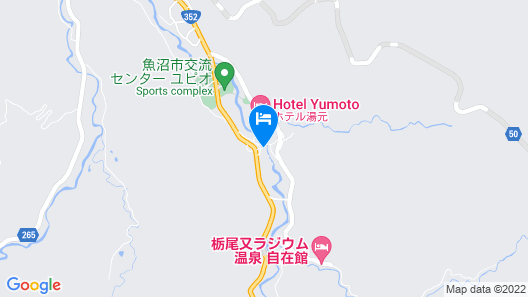 Yumoto Shoya Izumiya Ryokan Map