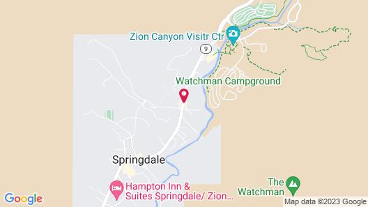 Flanigan's Inn Map
