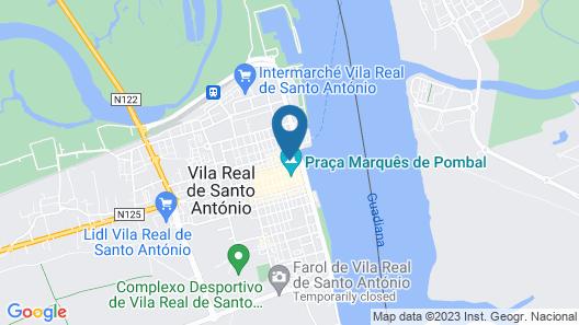 The Sun Hostel Map
