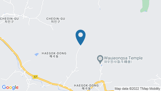 Jamping Holiday Yongin - Campsite Map