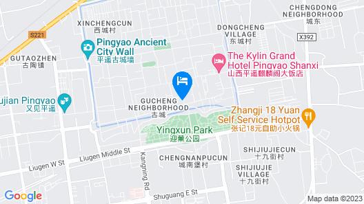 Water Hotel Pingyao Map