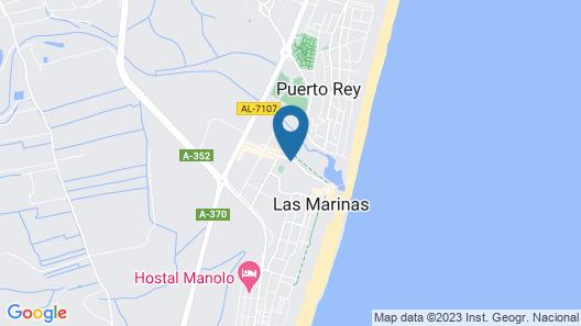 Beautiful apartment in Vera Playa Map