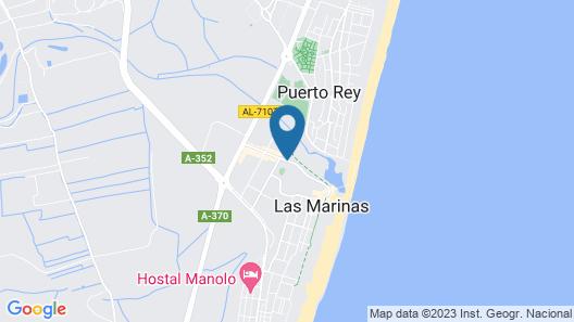 ALEGRIA Infiniti Beach Resort Map