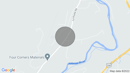 Jack Rabbit Estates in Durango CO Map