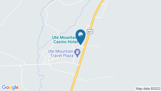 Ute Mountain Casino Hotel Map