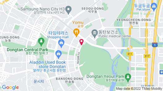 Days Hotel Dongtan Map