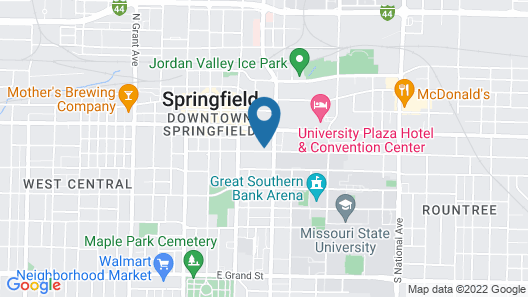 Tru by Hilton Springfield Downtown Map