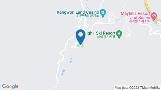 High Castle Resort Map