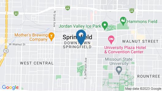 Hotel Vandivort Map