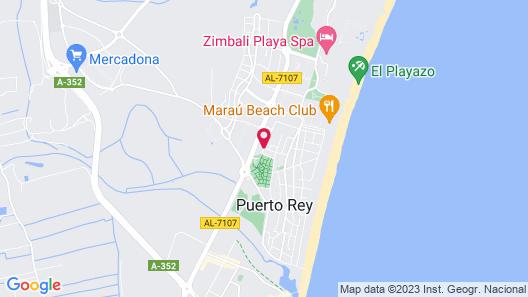 Apartamentos Turisticos Marina Rey Map