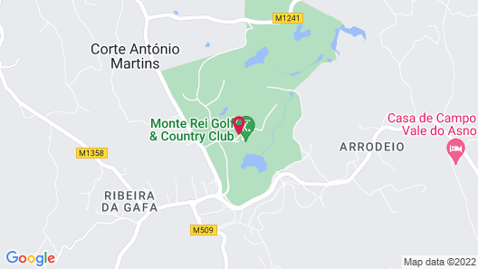 Monte Rei Golf & Country Club Map