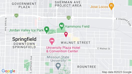The Q Hotel & Suites Map