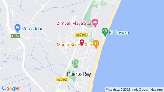 Advise Hotels Reina Map