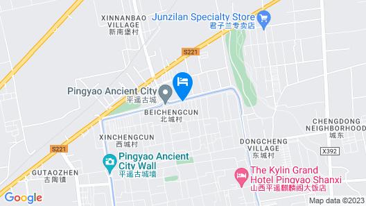 Elsewhere Boutique Hotel (Pingyao Gongji) Map