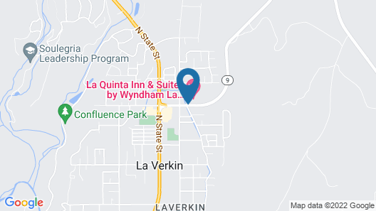 La Quinta Inn & Suites by Wyndham La Verkin-Gateway to Zion Map