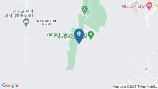 Yangji Pine Resort Map