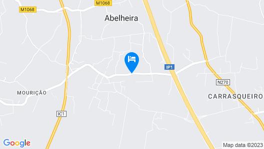 Casa dos Ninos Map