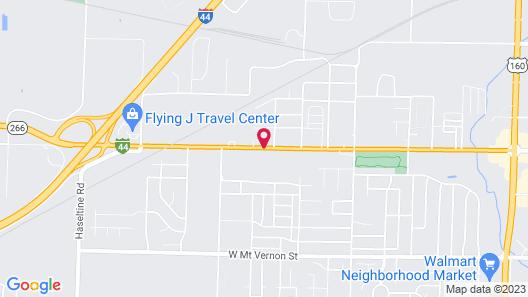 Best Western Plus Springfield Airport Inn Map