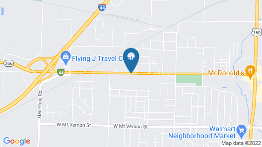 Best Western Plus Springfield Airport Inn Map