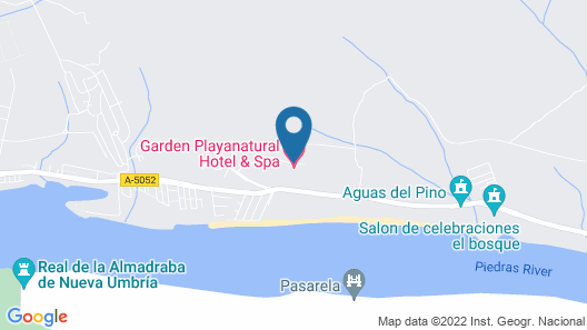 Garden Playanatural Hotel & Spa - Adults Only Map