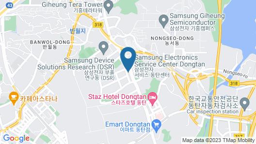 Dongtan Minos Map