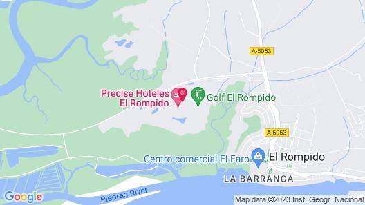 Precise Golf Resort El Rompido The Hotel Map