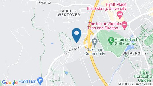 Holiday Inn Express & Suites Blacksburg - University Area, an IHG Hotel Map