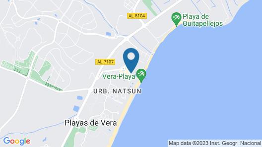 Vera Playa Club Hotel - Naturista Map