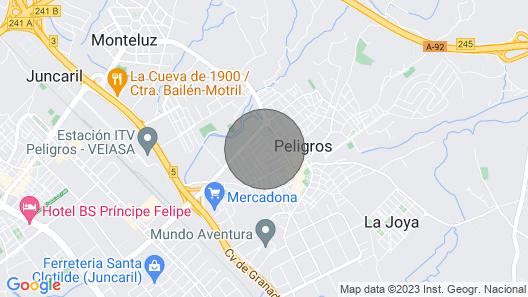 House in Danger Near Granada Map