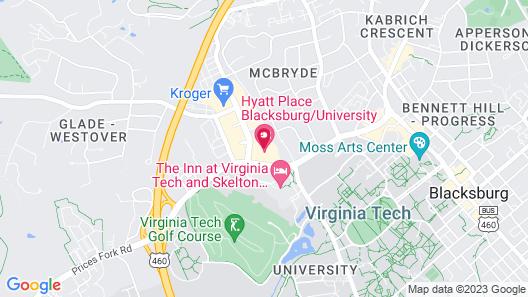 Hyatt Place Blacksburg / University Map