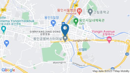 Hotel Cullinan Yongin Map