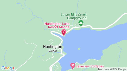 Huntington Lake Resort Map