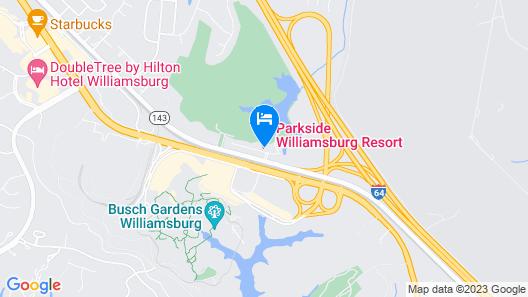 Luxurious Parkside Williamsburg Resort! Map