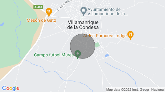 Well Loves. Rural House, Doñana National Park. Dew. A / C Map