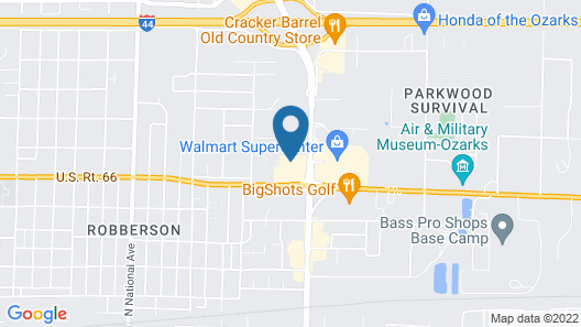 Fairfield Inn & Suites by Marriott Springfield North Map
