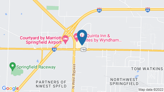 La Quinta Inn & Suites by Wyndham Springfield Airport Plaza Map