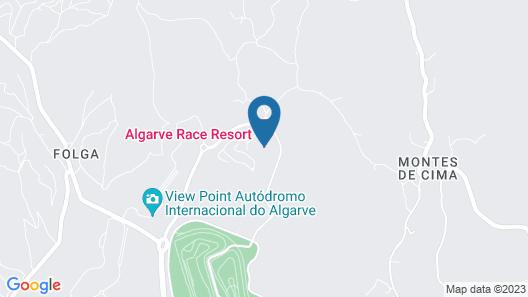 Algarve Race Resort Apartments Map