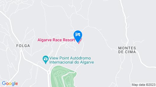 Algarve Race Resort Hotel Map