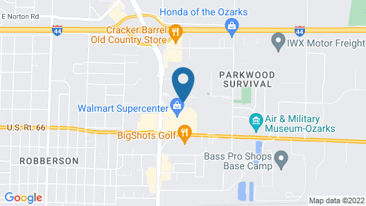 Oasis Hotel & Conv. Center, Ascend Hotel Collection Map
