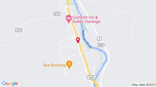 Super 8 by Wyndham Durango Map