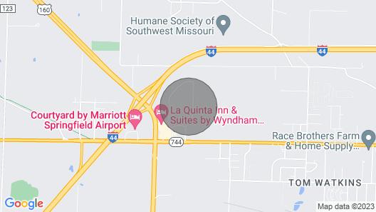 Lovely 1br/1ba Near Downtown Springfield Map