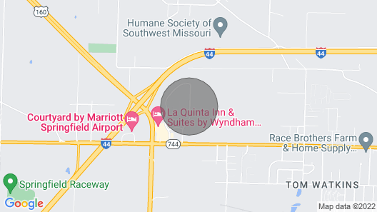 Stunning 1br/1ba Near Downtown Springfield Map