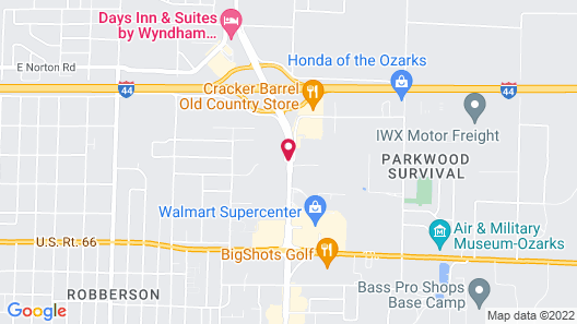 Drury Inn & Suites Springfield, MO Map