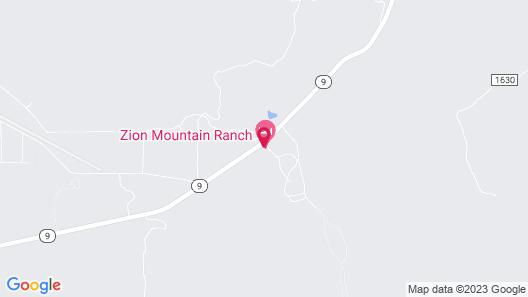 Zion Mountain Ranch Map