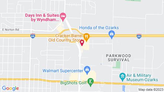 Lamplighter Inn & Suites - North Map