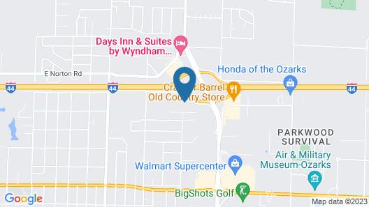 Baymont by Wyndham Springfield I-44 Map