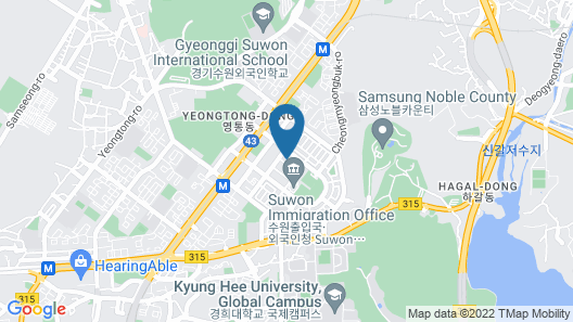 Suwon Yeongtong Wol Map